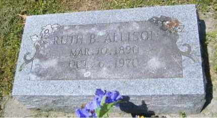 ALLISON, RUTH B. - Washington County, Arkansas | RUTH B. ALLISON - Arkansas Gravestone Photos