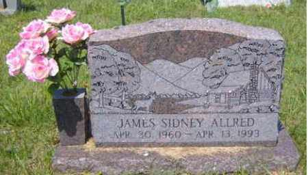 ALLRED, JAMES SIDNEY - Washington County, Arkansas | JAMES SIDNEY ALLRED - Arkansas Gravestone Photos