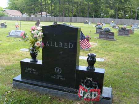 ALLRED, SAM - Washington County, Arkansas | SAM ALLRED - Arkansas Gravestone Photos