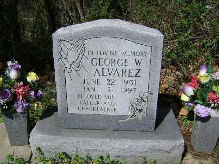 ALVAREZ, GEORGE W. - Washington County, Arkansas | GEORGE W. ALVAREZ - Arkansas Gravestone Photos