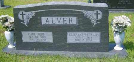 ALVER, ELIZABETH LOUISE - Washington County, Arkansas | ELIZABETH LOUISE ALVER - Arkansas Gravestone Photos