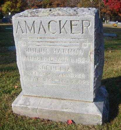 AMACKER, CORNELIA - Washington County, Arkansas | CORNELIA AMACKER - Arkansas Gravestone Photos