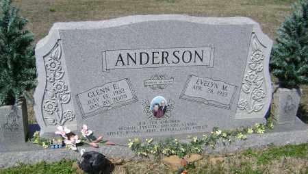 ANDERSON, GLENN E. - Washington County, Arkansas | GLENN E. ANDERSON - Arkansas Gravestone Photos