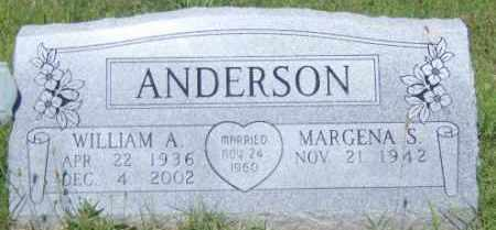 ANDERSON, WILLIAM A. - Washington County, Arkansas | WILLIAM A. ANDERSON - Arkansas Gravestone Photos