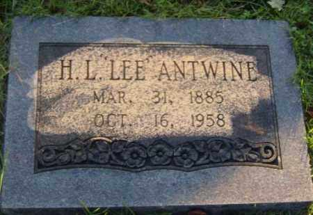 "ANTWINE, H.L. ""LEE"" - Washington County, Arkansas 