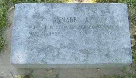 APPLEGATE, ANNABEL A. - Washington County, Arkansas | ANNABEL A. APPLEGATE - Arkansas Gravestone Photos
