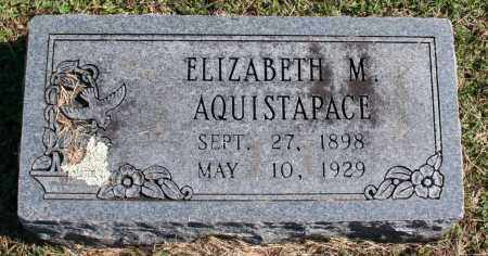 AQUISTAPACE, ELIZABETH - Washington County, Arkansas | ELIZABETH AQUISTAPACE - Arkansas Gravestone Photos