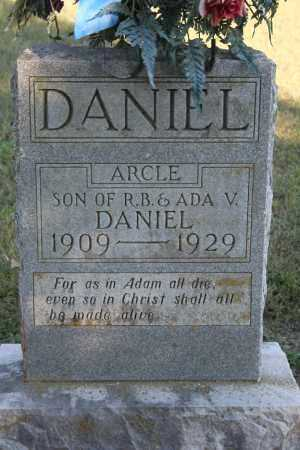 DANIEL, ARCLE - Washington County, Arkansas | ARCLE DANIEL - Arkansas Gravestone Photos