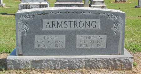 ARMSTRONG, GEORGE W. - Washington County, Arkansas | GEORGE W. ARMSTRONG - Arkansas Gravestone Photos
