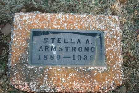 ARMSTRONG, STELLA A. - Washington County, Arkansas | STELLA A. ARMSTRONG - Arkansas Gravestone Photos