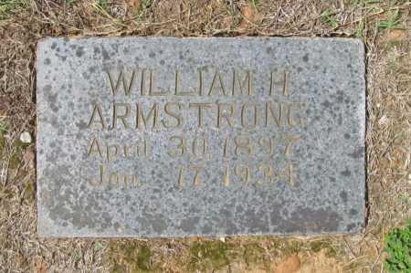 ARMSTRONG, WILLIAM H. - Washington County, Arkansas | WILLIAM H. ARMSTRONG - Arkansas Gravestone Photos