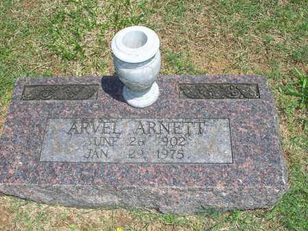 ARNETT, ARVEL - Washington County, Arkansas | ARVEL ARNETT - Arkansas Gravestone Photos