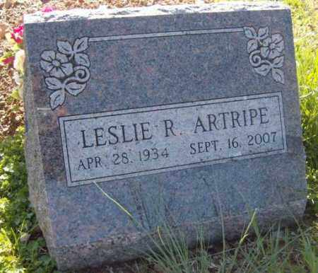 ARTRIPE, LESLIE R. - Washington County, Arkansas | LESLIE R. ARTRIPE - Arkansas Gravestone Photos