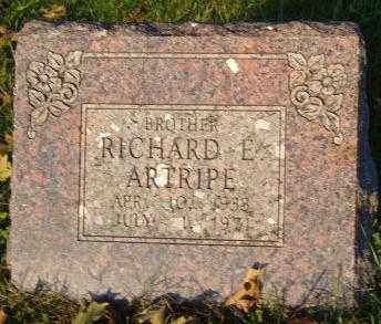 ARTRIPE, RICHARD E. - Washington County, Arkansas | RICHARD E. ARTRIPE - Arkansas Gravestone Photos