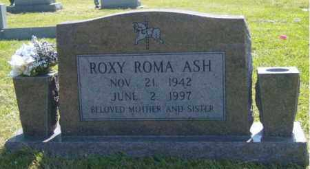 ASH, ROXY ROMA - Washington County, Arkansas | ROXY ROMA ASH - Arkansas Gravestone Photos