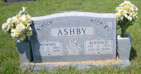 ASHBY, HOWARD - Washington County, Arkansas | HOWARD ASHBY - Arkansas Gravestone Photos