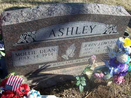 ASHLEY, JOHN EDWARD - Washington County, Arkansas | JOHN EDWARD ASHLEY - Arkansas Gravestone Photos