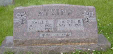 BAKER ATKINS, LAJOICE - Washington County, Arkansas | LAJOICE BAKER ATKINS - Arkansas Gravestone Photos
