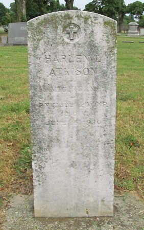 ATKISON (VETERAN), HARLEN LESTER - Washington County, Arkansas | HARLEN LESTER ATKISON (VETERAN) - Arkansas Gravestone Photos
