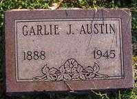 AUSTIN, GARLIE J - Washington County, Arkansas | GARLIE J AUSTIN - Arkansas Gravestone Photos