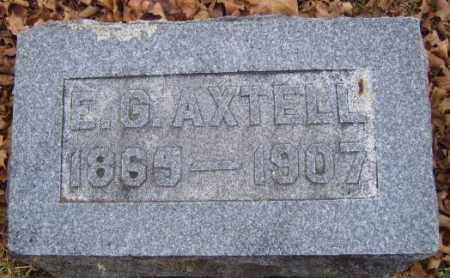 AXTELL, E.G. - Washington County, Arkansas | E.G. AXTELL - Arkansas Gravestone Photos
