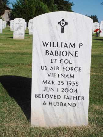BABIONE  (VETERAN VIET), WILLIAM P. - Washington County, Arkansas | WILLIAM P. BABIONE  (VETERAN VIET) - Arkansas Gravestone Photos