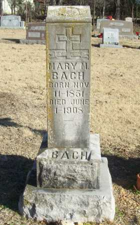 BACH, MARY M. - Washington County, Arkansas | MARY M. BACH - Arkansas Gravestone Photos