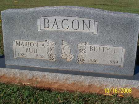 "BACON, MARION A. ""BUD"" - Washington County, Arkansas 