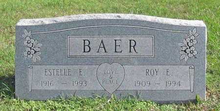 BAER, ROY E. - Washington County, Arkansas   ROY E. BAER - Arkansas Gravestone Photos