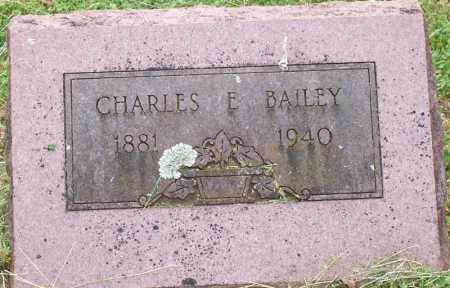 BAILEY, CHARLES E. - Washington County, Arkansas | CHARLES E. BAILEY - Arkansas Gravestone Photos