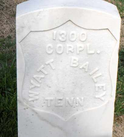 BAILEY (VETERAN UNION), WYATT - Washington County, Arkansas | WYATT BAILEY (VETERAN UNION) - Arkansas Gravestone Photos