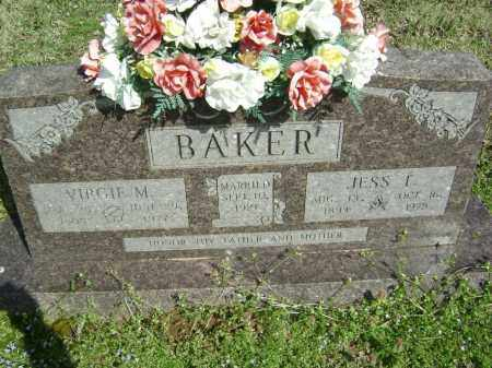 BAKER, JESS T. - Washington County, Arkansas | JESS T. BAKER - Arkansas Gravestone Photos