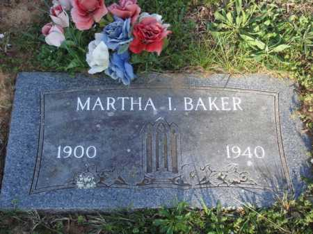 BAKER, MARTHA I. - Washington County, Arkansas | MARTHA I. BAKER - Arkansas Gravestone Photos