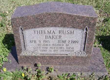 RUSH BAKER, THELMA - Washington County, Arkansas | THELMA RUSH BAKER - Arkansas Gravestone Photos