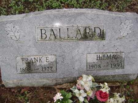 BALLARD, HILMA - Washington County, Arkansas | HILMA BALLARD - Arkansas Gravestone Photos