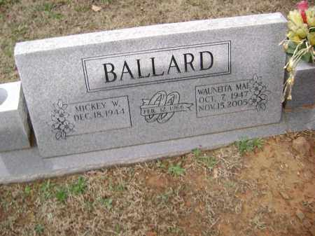 BALLARD, WAUNEITA MAY - Washington County, Arkansas | WAUNEITA MAY BALLARD - Arkansas Gravestone Photos