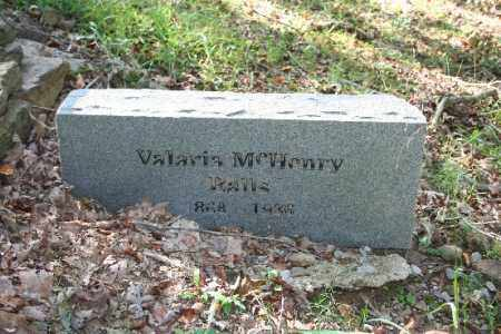 BALLS, VALARIA - Washington County, Arkansas | VALARIA BALLS - Arkansas Gravestone Photos