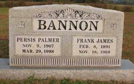 BANNON, FRANK JAMES - Washington County, Arkansas | FRANK JAMES BANNON - Arkansas Gravestone Photos