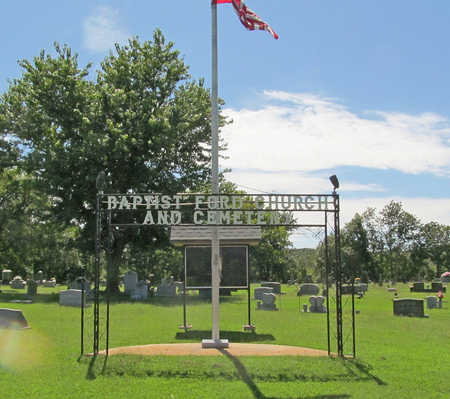 *BAPTST FORD CEMETERY SIGN,  - Washington County, Arkansas |  *BAPTST FORD CEMETERY SIGN - Arkansas Gravestone Photos