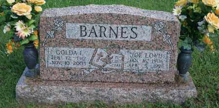BARNES, GOLDA - Washington County, Arkansas | GOLDA BARNES - Arkansas Gravestone Photos