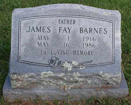 BARNES, JAMES FAY - Washington County, Arkansas | JAMES FAY BARNES - Arkansas Gravestone Photos