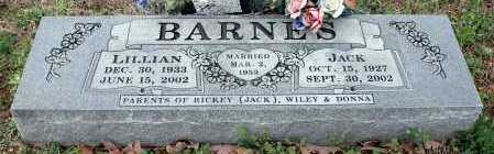 BARNES, JACK - Washington County, Arkansas | JACK BARNES - Arkansas Gravestone Photos