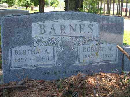 "BARNES, ROBERT WESLEY ""BOB"" - Washington County, Arkansas 