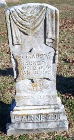 BARNETT, ELIZABETH - Washington County, Arkansas | ELIZABETH BARNETT - Arkansas Gravestone Photos