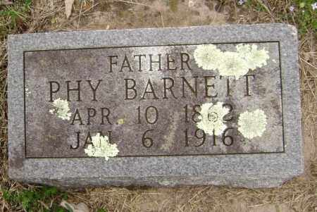 BARNETT, PHY - Washington County, Arkansas | PHY BARNETT - Arkansas Gravestone Photos