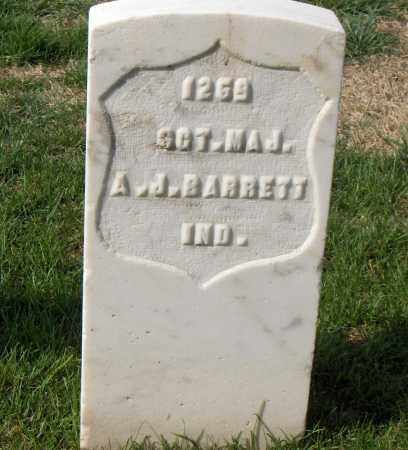 BARRETT (VETERAN UNION), ANDREW J - Washington County, Arkansas | ANDREW J BARRETT (VETERAN UNION) - Arkansas Gravestone Photos