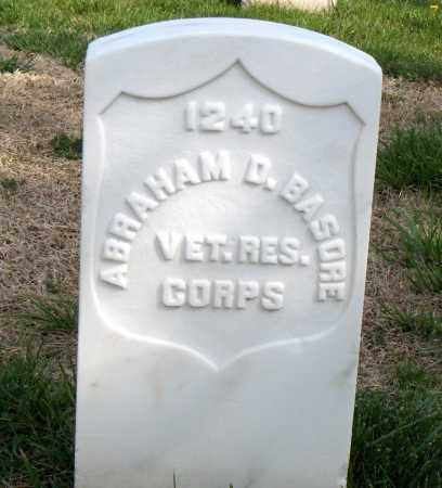 BASORE (VETERAN UNION), ABRAHAM D - Washington County, Arkansas | ABRAHAM D BASORE (VETERAN UNION) - Arkansas Gravestone Photos