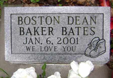 BATES, BOSTON DEAN BAKER - Washington County, Arkansas | BOSTON DEAN BAKER BATES - Arkansas Gravestone Photos