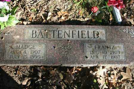 BATTENFIELD, FRANTZ - Washington County, Arkansas | FRANTZ BATTENFIELD - Arkansas Gravestone Photos