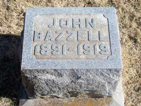 BAZZELL, JOHN - Washington County, Arkansas | JOHN BAZZELL - Arkansas Gravestone Photos